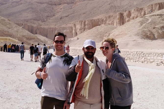 Luxor Sightseeing One Day Tour From Hurghada small group photo 1