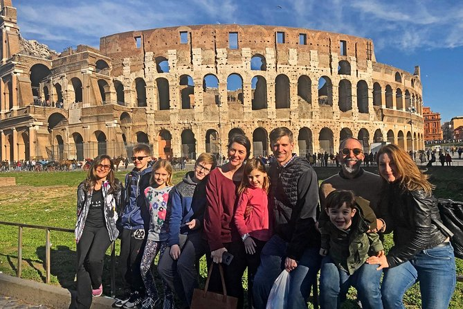 Skip-the-Line Family Colosseum & Roman Forum Tour with Kid-Friendly Activities