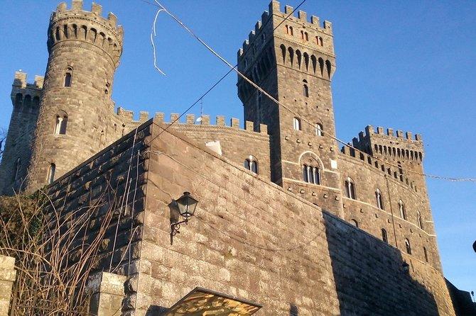 E-bike tour to the Alfina Castle, Sasseto forest, tasting in the cellar