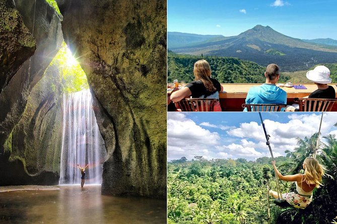 Tukad Cepung Waterfall and Kintamani Volcano Tour with Alas Harum Bali Swing