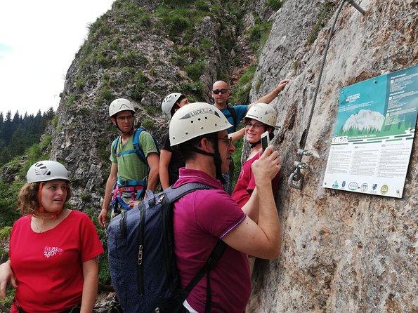 Via Ferrata Tour near Red Lake (Lacu Rosu)