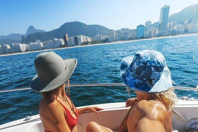 Private Speedboat Tour Up to 7 people in the Cagarras Islands