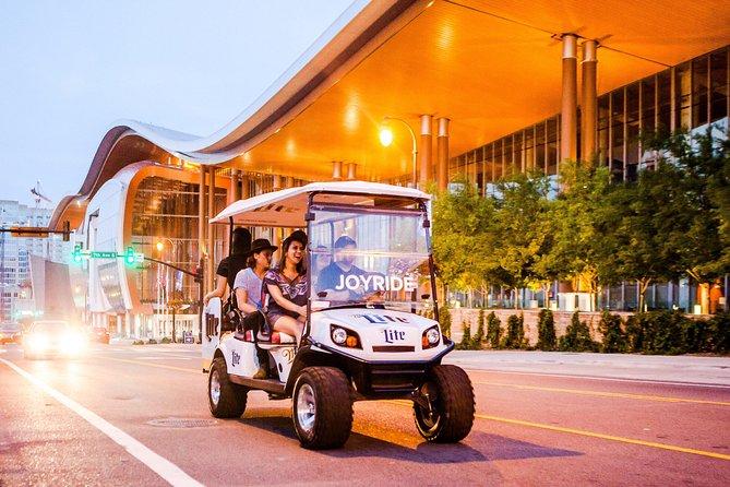 Downtown Nashville Transport med Golf Cart