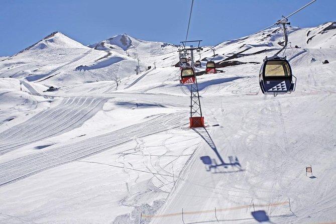 Santiago: Full day panoramic tour to ski resort Valle Nevado