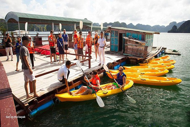 Halong Bay Full-Day Cruise with Kayaking from Hanoi photo 11
