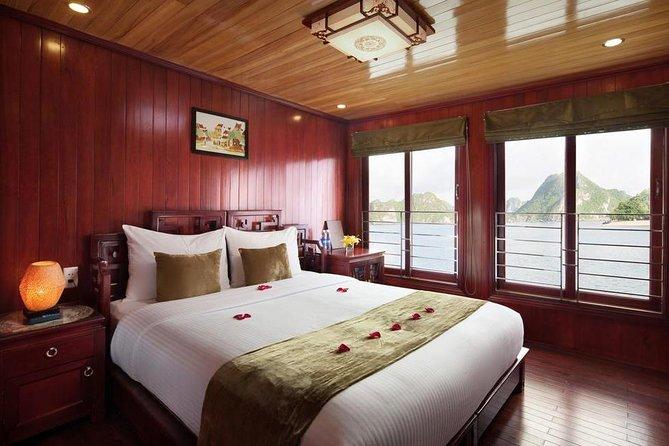2 dagar fantastiska Halong Bay kryssningstur med olika alternativ