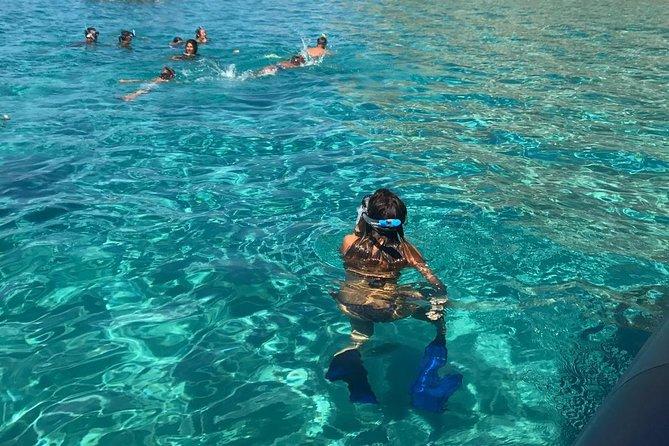 Snorkeling tour by boat Costa degli Dei Tropea and Capo Vaticano