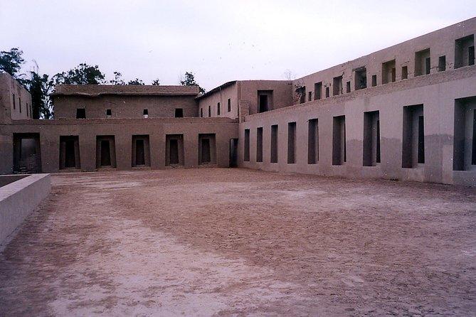 Tour to Pachacamac Temple - visits to Barranco & Chorrillos