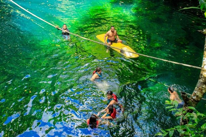 Live the experience to drive an Atv, do ziplines and swim in a real Cenote Maya photo 4