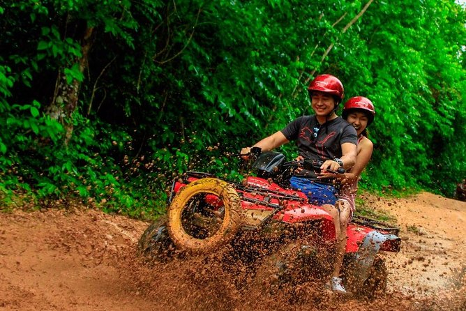Live the experience to drive an Atv, do ziplines and swim in a real Cenote Maya photo 1