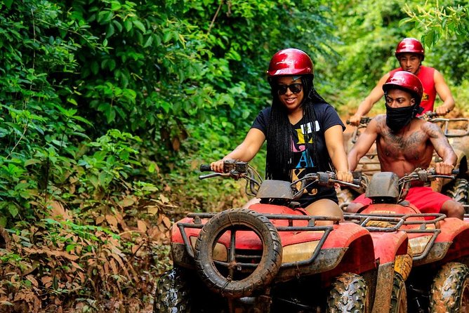 Live the experience to drive an Atv, do ziplines and swim in a real Cenote Maya photo 7