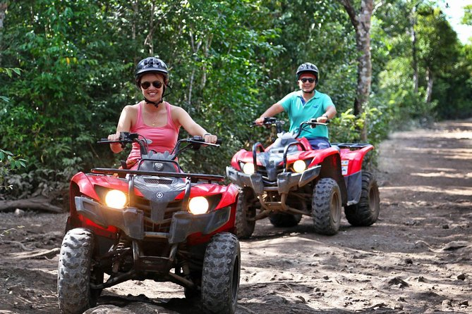 Live the experience to drive an Atv, do ziplines and swim in a real Cenote Maya photo 10