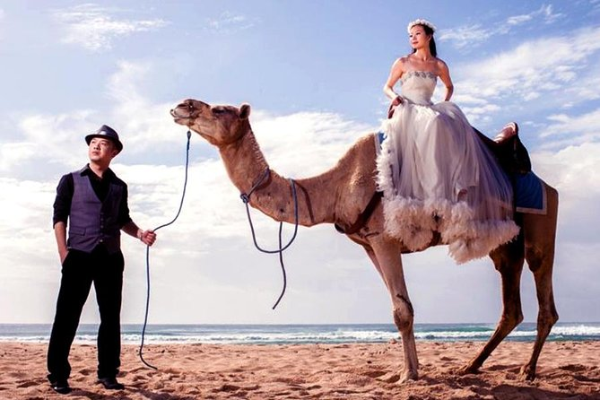 Bali Camel Ride on the Beach with Photo Session