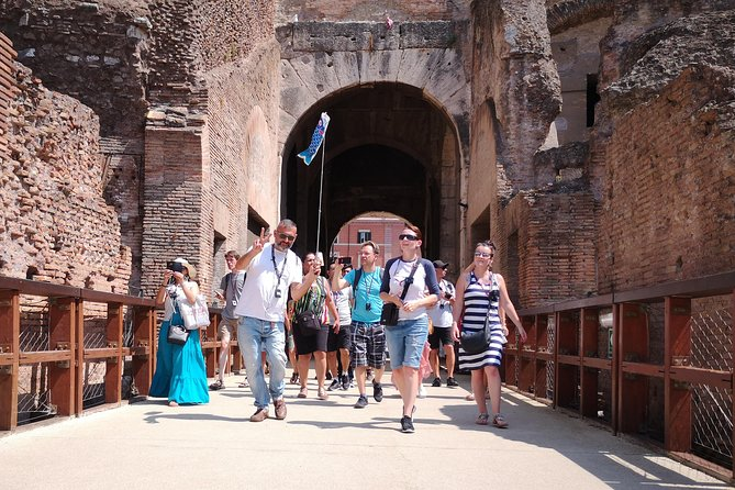 Colosseum Arena Floor Guided Tour and Ancient Rome Priority Access