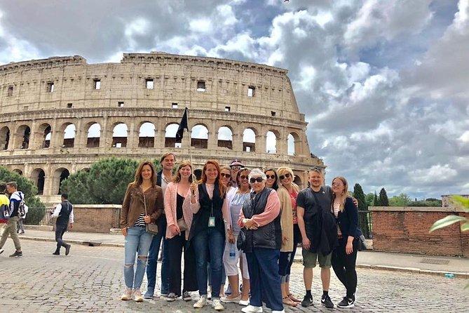Tour para grupos pequeños en el Coliseo, el Foro y el Monte Palatino