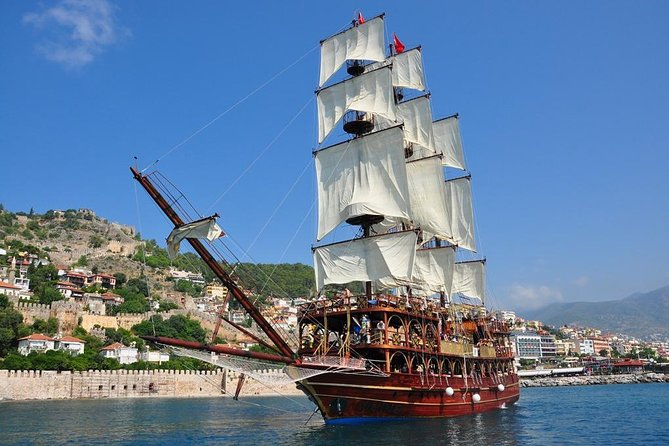 Alanya Pirates Boat Trip with Foam party Swimming & Sunbathing