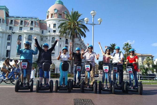 Nice City Small-Group Half Day Segway Sightseeing Tour