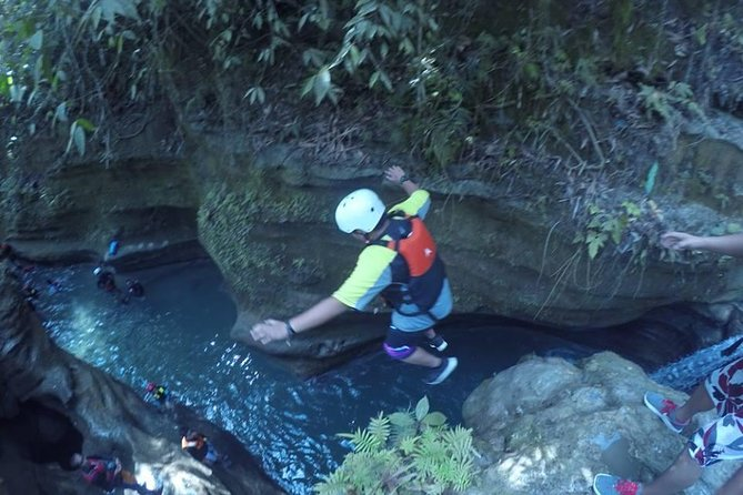 Badian Canyoneering Adventure and Kawasan Waterfalls Private Tour