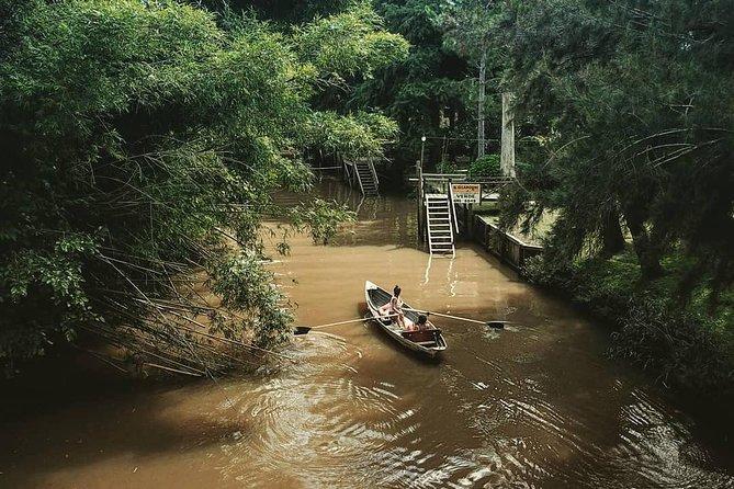 Excursion d'une journée complète sur bateaux à rames au delta du Tigre avec déjeuner compris