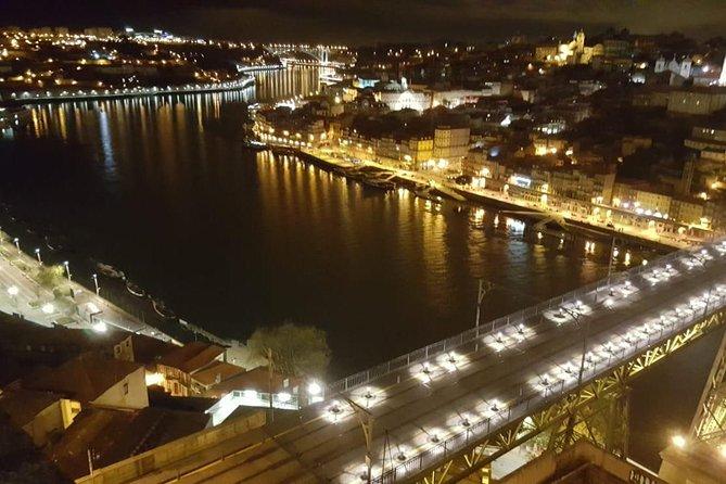Fado dinner with panoramic night view of Porto