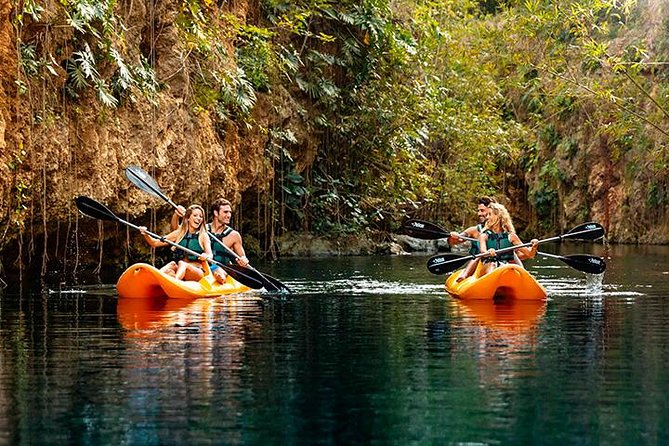 Tour Xenotes Advenure From Cancun & Playa del Carmen
