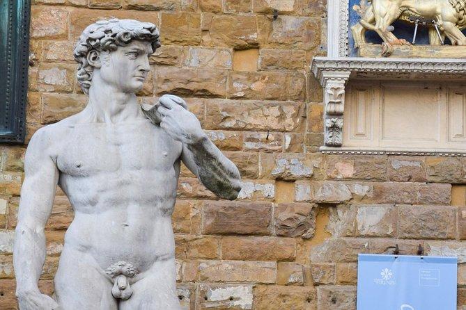 Galeria Accademia e David, excursão semi-privada para pequenos grupos (máximo de 10 a 11 pessoas)