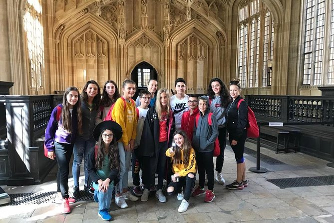 from May 17- Harry Potter Insights Oxford PUBLIC Tour entry to Divinity School