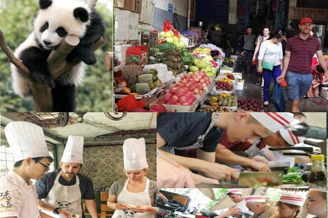 Giant Panda & Sichuan Cuisine Cooking Class Private Tour (No shopping steps) photo 1