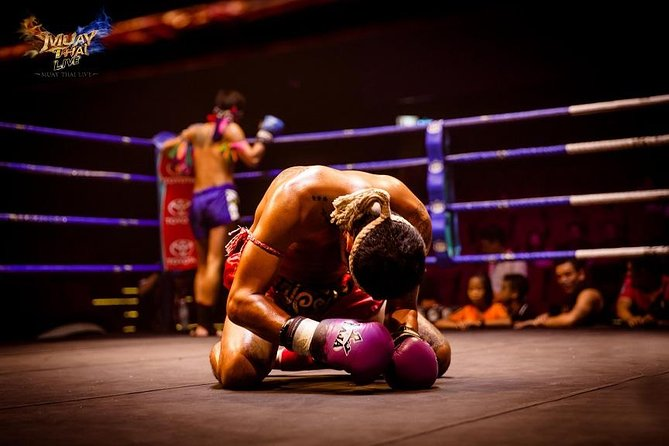 Thai boxing show and real fight (Muay Thai Live at Asiatique) photo 6