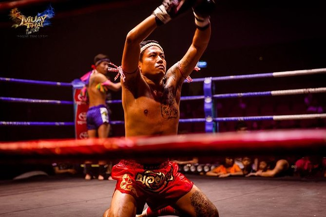 Thai boxing show and real fight (Muay Thai Live at Asiatique) photo 7