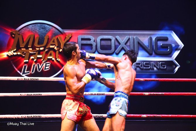 Thai boxing show and real fight (Muay Thai Live at Asiatique) photo 3