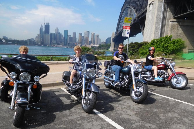 The 3 Bridges Harley Tour - see the main iconic bridges of Sydney on a Harley