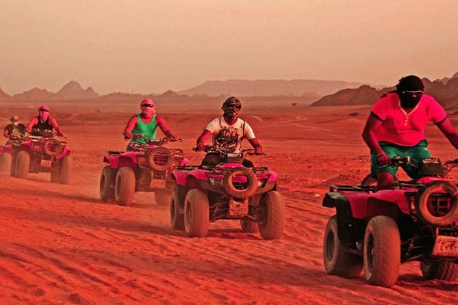 Sunset Desert Safari Trip by Quad Bike photo 3