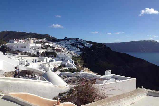 Santorini Blue Dome, Imerovigli and Oia Sunset Tour