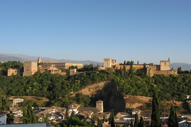 Granada and Alhambra from Marbella and Costa del Sol: Vip Private Tour