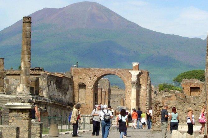 Private Pompeii&Mount Vesuvius day trip from Rome