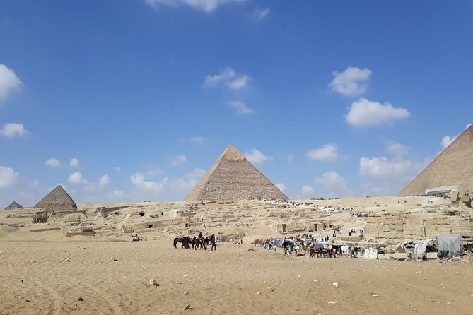 Giza pyramids with camel ride photo 2