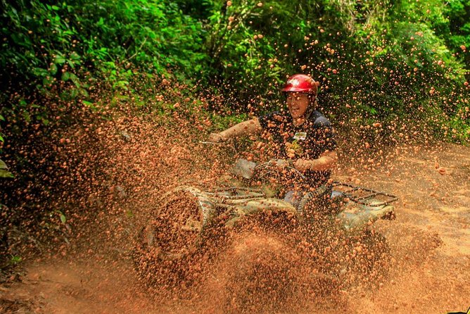 Drive an Atv in the jungle, do ziplines and swim in a Cenote from Cancun photo 9