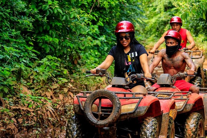 Drive an Atv in the jungle, do ziplines and swim in a Cenote from Cancun photo 10