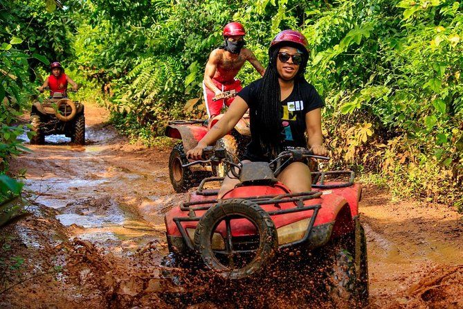 Drive an Atv in the jungle, do ziplines and swim in a Cenote from Cancun photo 13