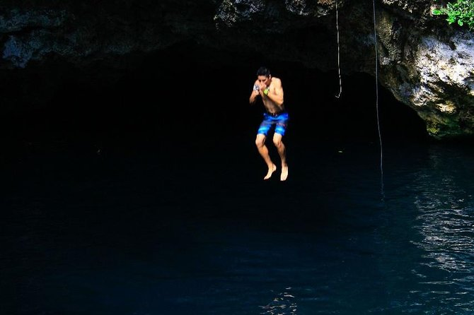 Drive an Atv in the jungle, do ziplines and swim in a Cenote from Cancun photo 11