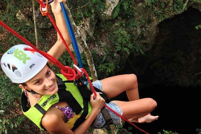 Drive an Atv in the jungle, do ziplines and swim in a Cenote from Cancun photo 3