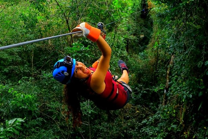 Discover the Adrenaline with our tour with Atvs ziplines and a real Mayan cenote photo 8