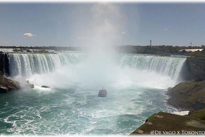 Vive las Cataratas del Niagara y su region vinicola