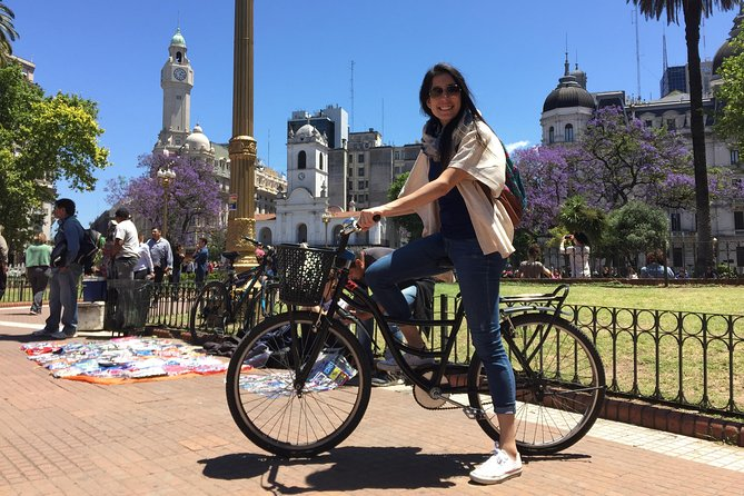 Bike Tour: Half-Day City Highlights of Buenos Aires