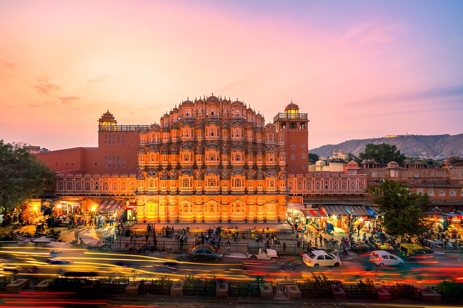 Private Jaipur City Tour from Agra by Car
