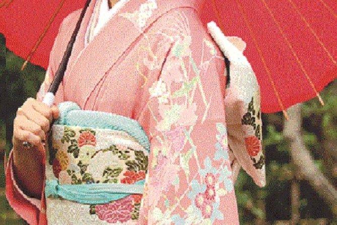 Kimono wearing experience in kyoto