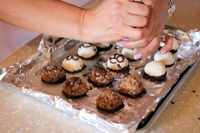 Paleo Vegan Coconut Chocolate Truffles... Great tasting and perfect for those who are vegan or have gluten allergies .
