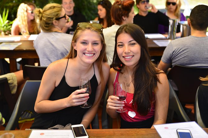 Comparing wine notes on Zepher Tours