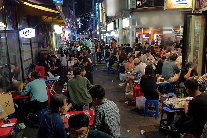Drinking and Eating through the Alleys of Seoul